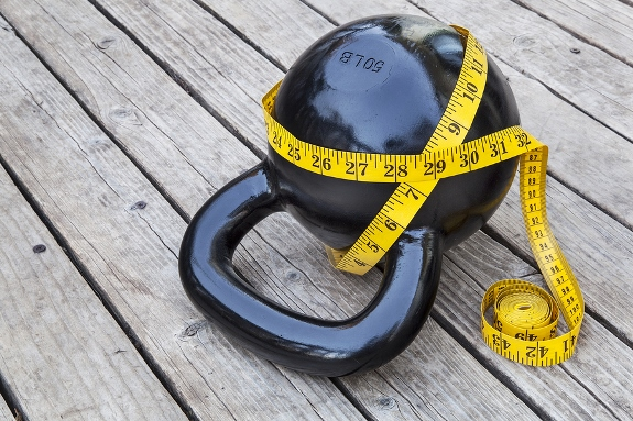 Kettlebell to lose weight